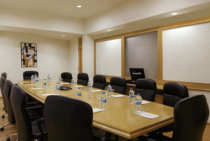 Business Board Room at Bangalore Lemon Tree Hotel Electronic City